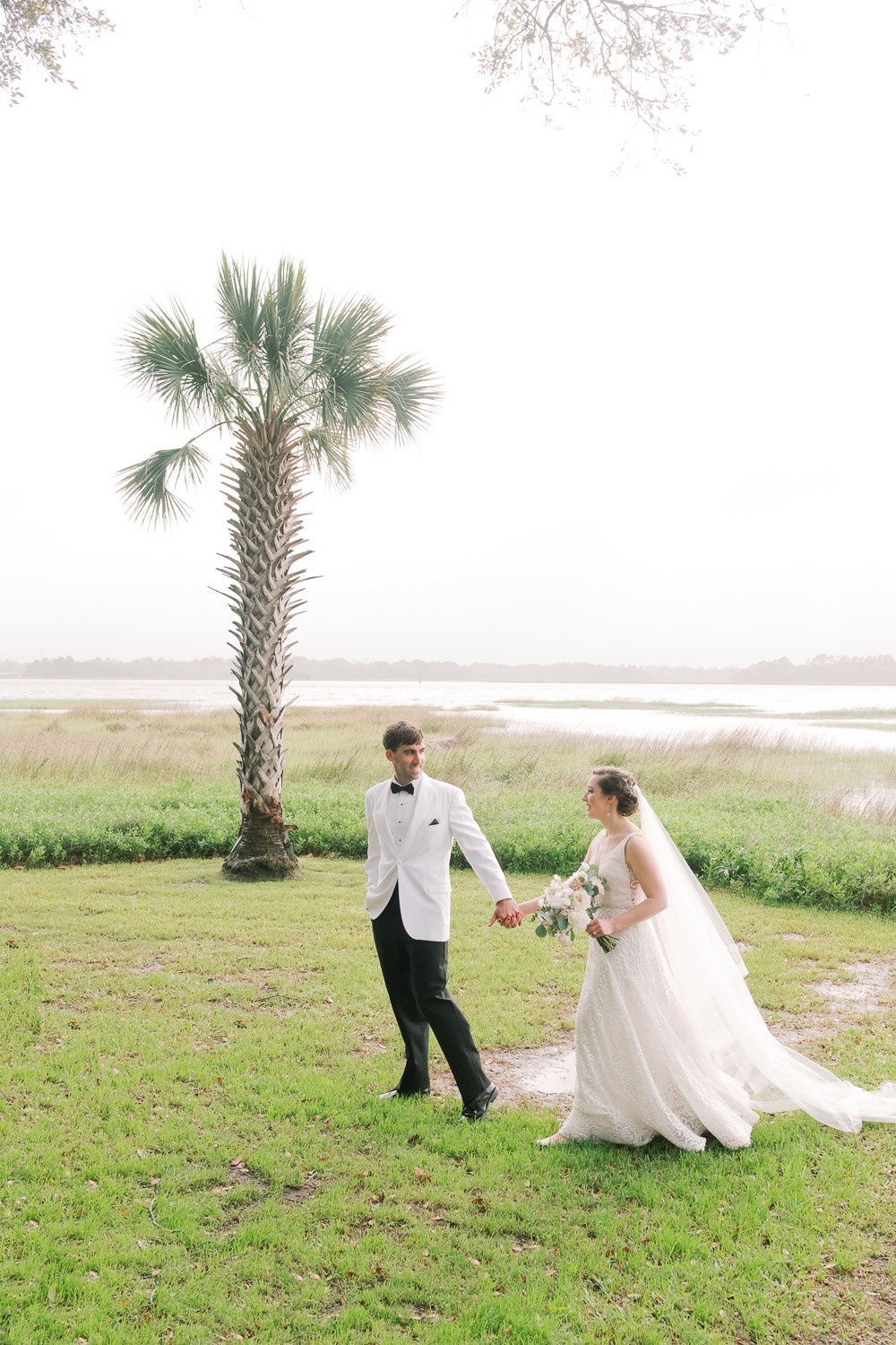 Charleston Wedding Photographers Virgil Bunao Teasers from a Stormy Wedding at Lowndes Grove Plantation